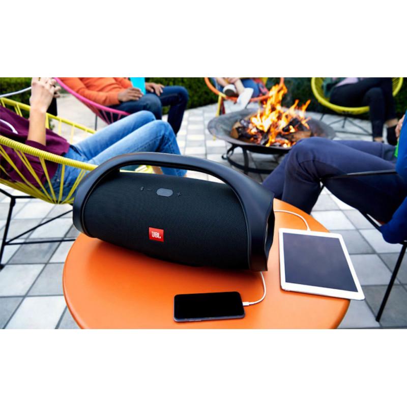 Преносима водоустойчива Bluetooth тонколонка JBL Boombox MAX с вграден микрофон