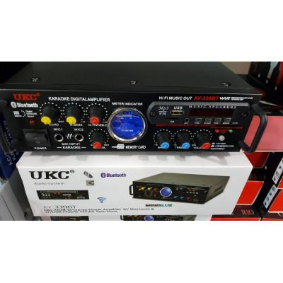 Аудио усилвател / Домашен усилвател / Караоке, Модел: AV-339A + bluetooth