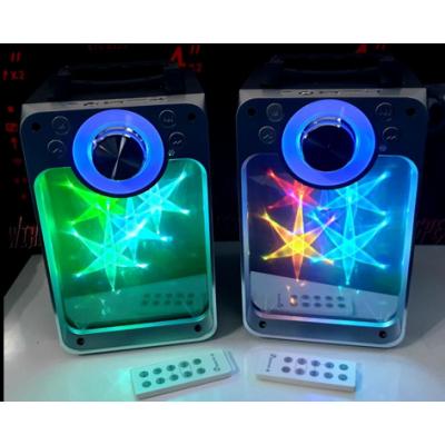 Блутут/Bluetooth светеща колона с усб/usb!