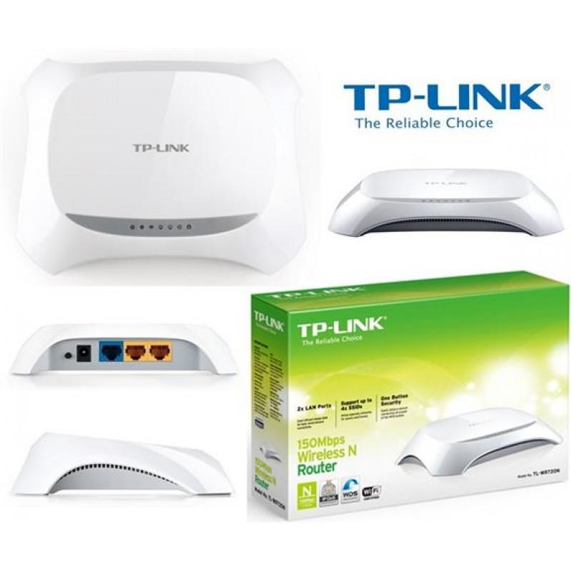 Безжичен рутер N150 TP-LINK TL-WR720N
