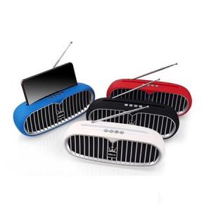 Преносима Тонколона Maserati KMS-U2 FM Radio, TF Card, USB, Bluetooth