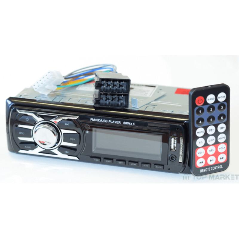 АВТОМОБИЛЕН MP3 ПЛЕЪР USB CDX-4009E LED ДИСПЛЕЙ+BLUETOOTH