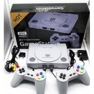 Ретро телевизионна конзола за видеоигри Конзола за видеоигри за Nes 8 бита с 600  вградени игри Двойни геймпади Поддържа PAL & NTSC