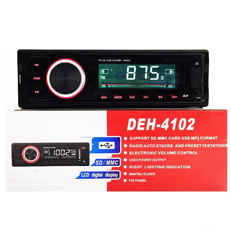 АВТОМОБИЛЕН MP3 ПЛЕЪР USB DEH-4102 LCD ДИСПЛЕЙ
