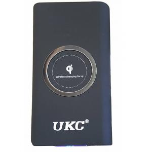 безжична ukc power bank mbx 20000 mah wireless charging for ql, Външна соларна батерия