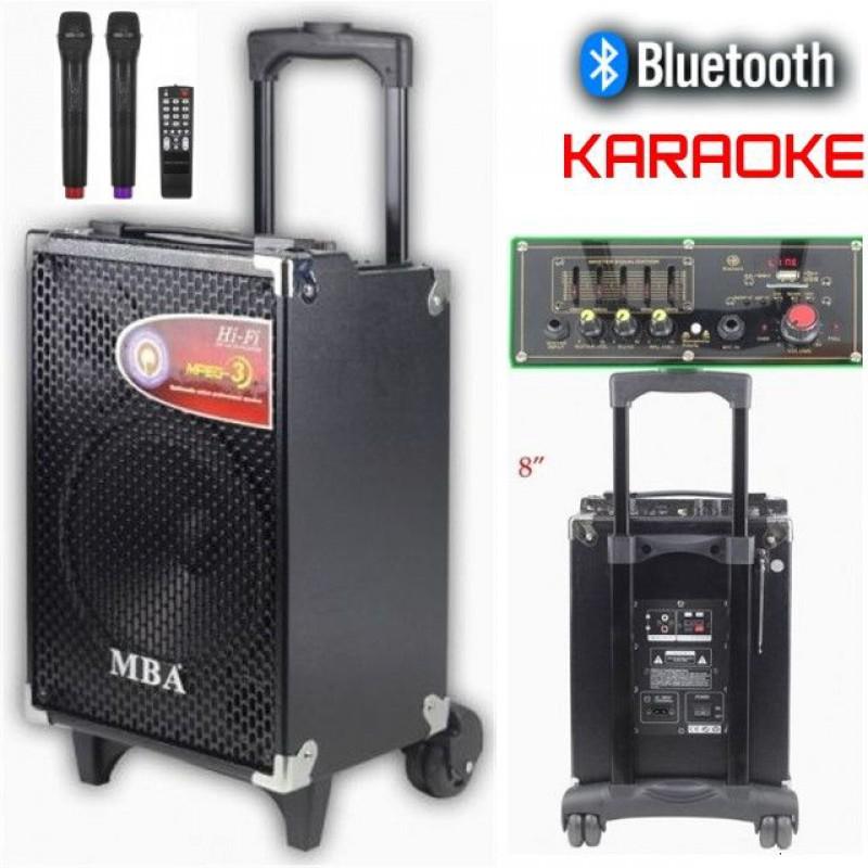Караоке тонколона Mba Q8,вграден акумулатор+  2 безжични микрофона