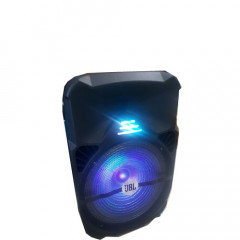 Караоке активна тонколона JBL - LT-1516BT с Bluetooth функция, 2БР. безжичен микрофон и LED светлини