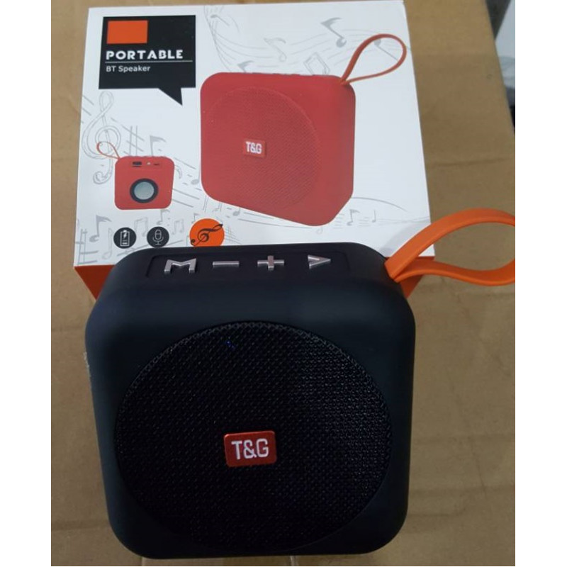 T&G Bluetooth USB AUX TF Portable Speaker