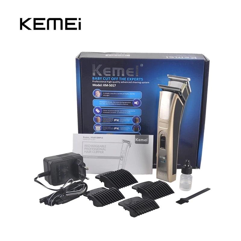 Безжичен Мъжки Тример Kemei 5017 Машинка за Постригване Брада, Лице, Тяло