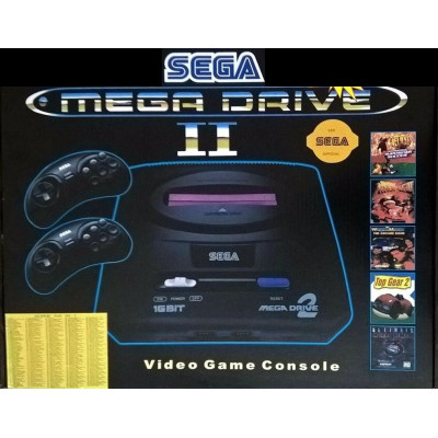 Sega Mega Drive 2 с вградени игри 16 битова телевизионна игра