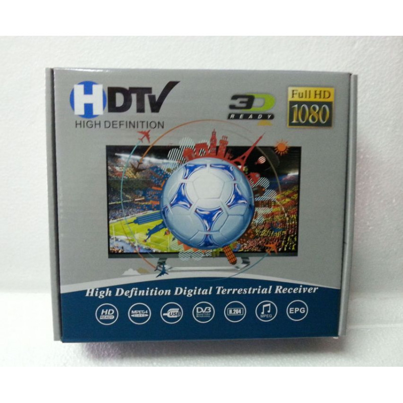 DVB-T2 - Декодер за Сръбски и Български ефирни ТВ програми