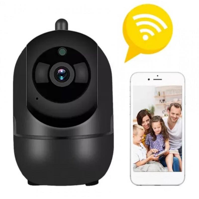 Интелигентна WiFi IP Камера Въртяща се 360° Full HD с Нощно Виждане