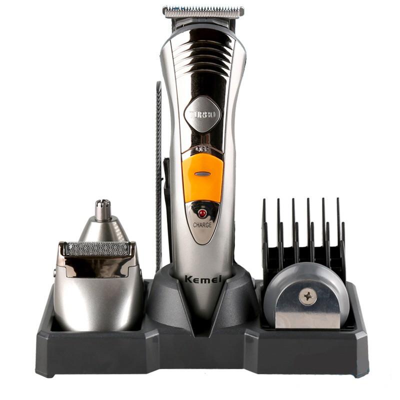 2в1 Машинка за подстригване + самобръсначка Kemei
