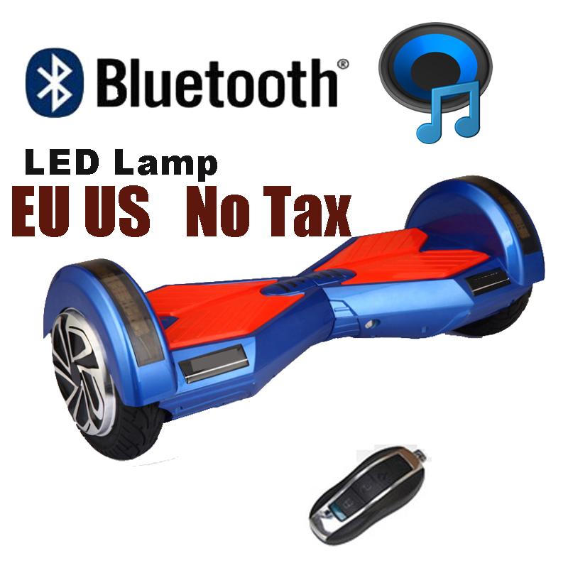 Ховърборд 6.5 инча Син - Bluetooth + Сак