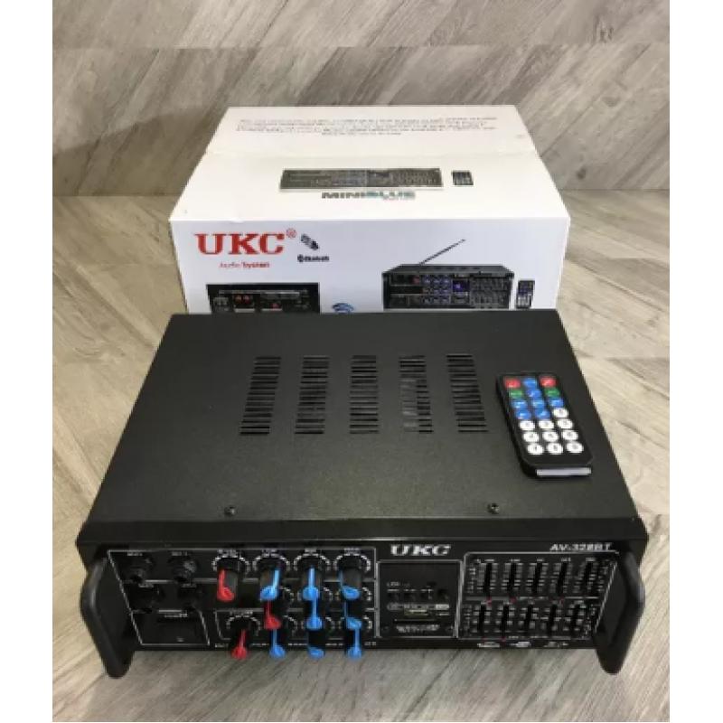 ПРОМО Bluetooth Аудио усилвател / Домашен усилвател / Караоке Модел: AV-328BT