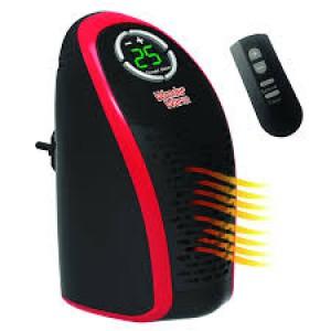 Компактна вентилаторна керамична мини-печка духалка Totalshop Wonder W