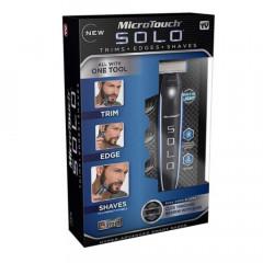 Тример за мъже Micro Touch Solo, с 3 приставки