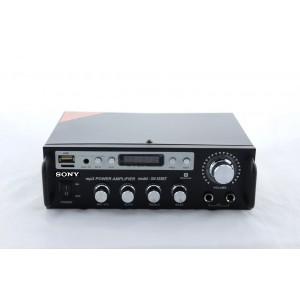 Домашен усилвател / Стъпало SONY SN-555BT / Аудио усилвател за Караоке с Мp3, Usb, Sd, Радио
