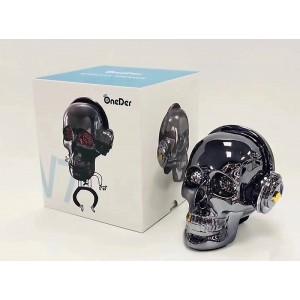 НОВА Портативна Блутут колона с радио Skull OneDer V7