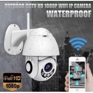 Нова въртяща се безжична WIFI IP Full HD камера със резолюция 1920х1080 FULLHD, 5.0MP Lend , 3.6mm фокус