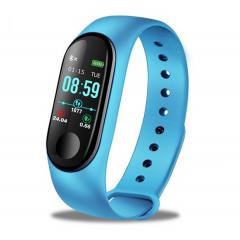 Фитнес смарт гривна M3 Vertex Mi Band Tracker Смарт Wristband крачкомер , калории, пулсомер ,фитнес, bluetooth, напомняне за повикване, черна