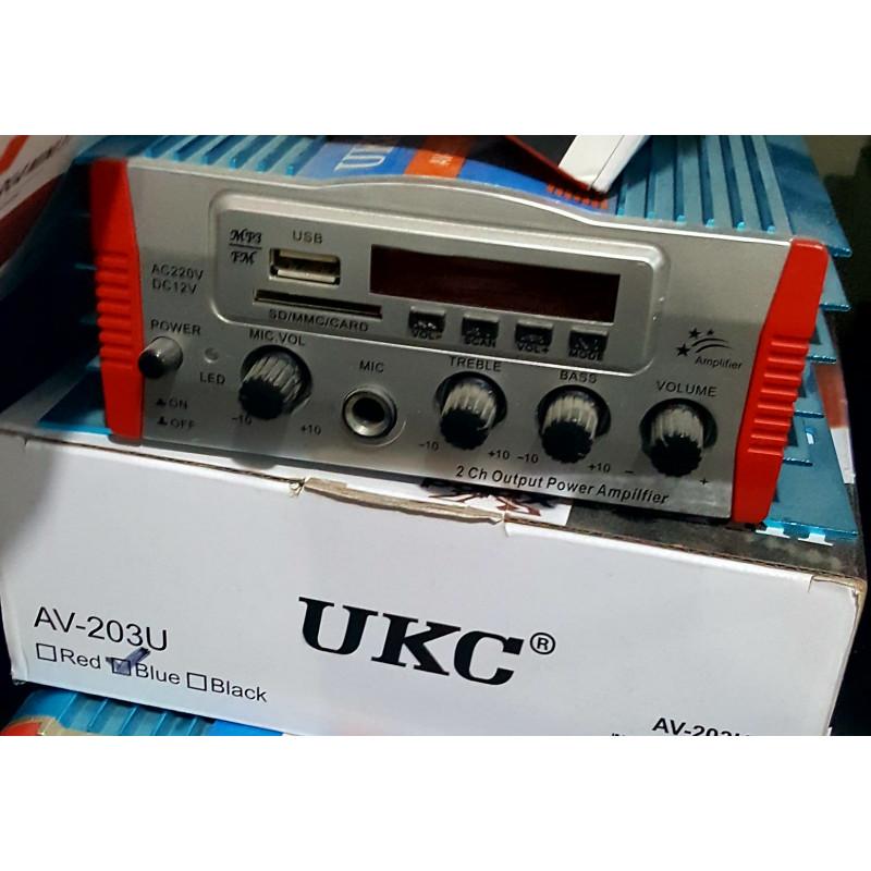 Аудио усилвател / Домашен усилвател, UKC AV-203U