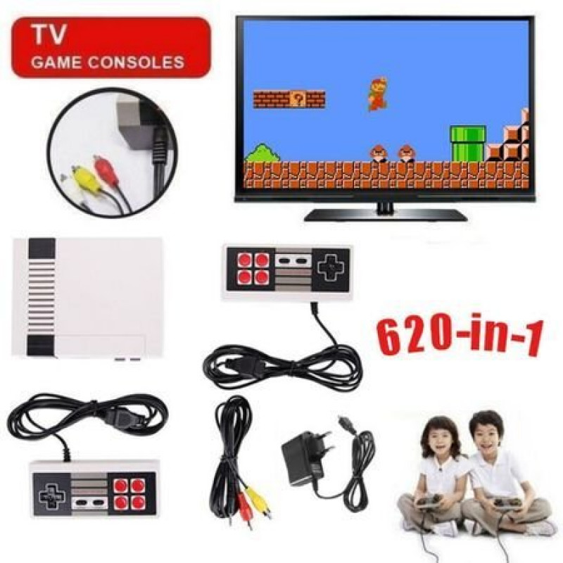 Телевизионна Игра С 620 Вградени Класически Игри Nintendo/Нинтендо 620