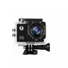 Екшън камера Full 4D, WiFi, за снимане под вода, 4K 30 fps, Черен
