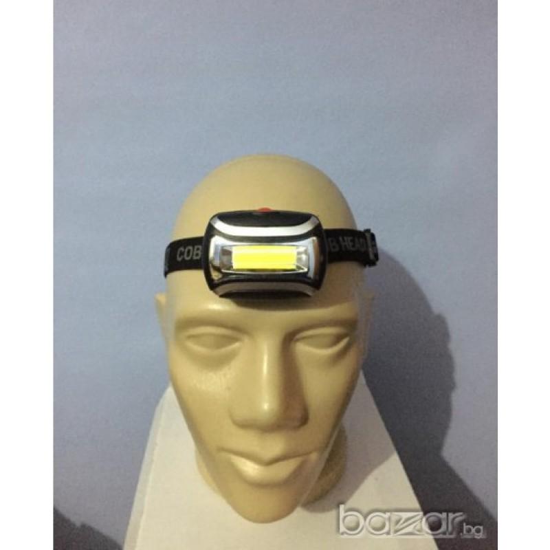 LED Фенер челник с COB light много мощен