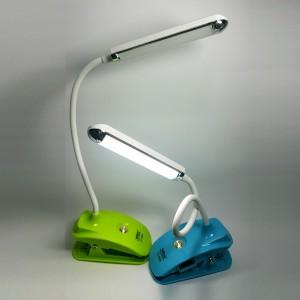Акумулаторна лампа за четене и къмпинг със щипка YJ-5868