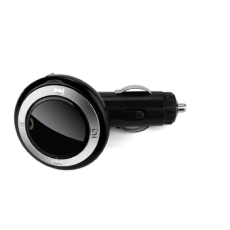 FM трансмитер за кола Car Q9 с Bluetooth и слот за SD карта, Черен
