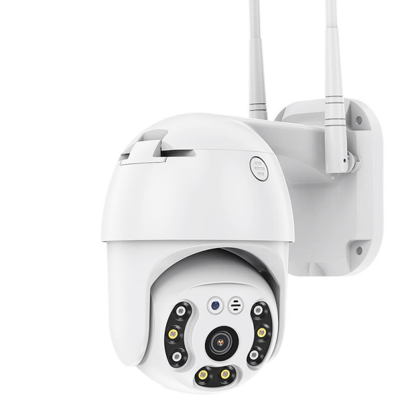 ВЪНШНА КАМЕРА С ДВЕ АНТЕНИ цветно нощно виждане Waterproof Wifi FULL HD 1080P