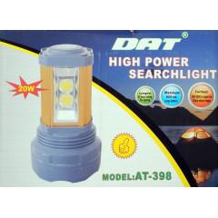 Изключително мощен водоустойчив фенер AT-398 PRO 20W