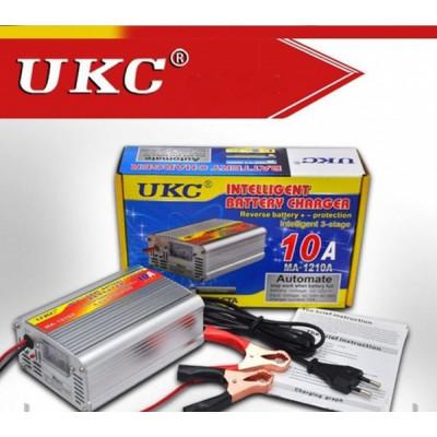 НОВ МОДЕЛ 10А UKC импулсни зарядни за акумулатор за коли, камиони,бусове и др.