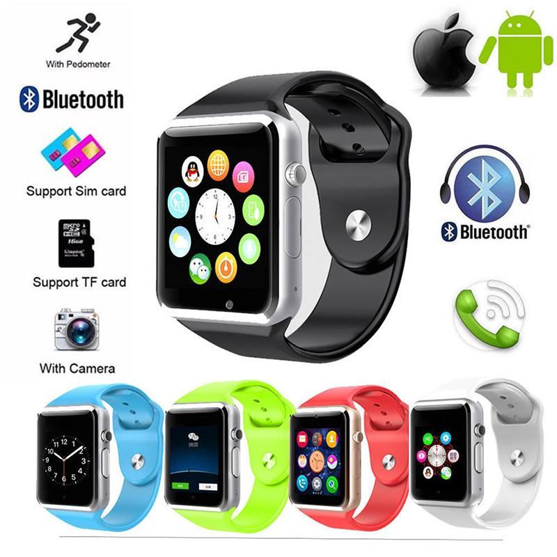 СМАРТ ЧАСОВНИК с блуутут,камера / Smart Watch Android iOS, модел: A1