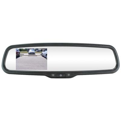 Lcd дисплей в огледало за задно виждане