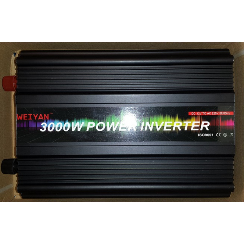 3000W Инвертор 12V-220V за автомобил и 24 волта за камион- нови