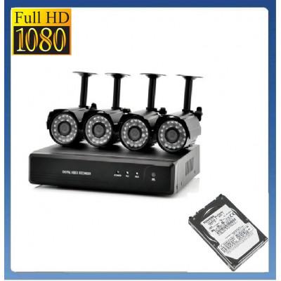 SONY 1800 твл + Хард диск 1 TB Заводска система за видеонаблюдение + DVR
