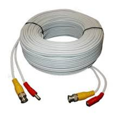 30 метра Готови кабели за видеонаблюдение комплект,за вскички камери Bnc / Rca / Dc