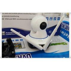 Охранителна IP безжична въртяща се камера Wifi Wireless наблюдение през телефон