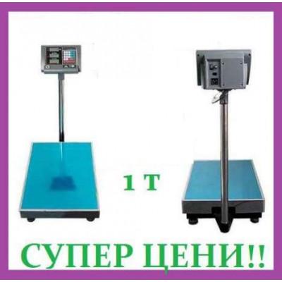 Кантар 1тон/1000 кг Нова New Професионална Платформена Електронна везна