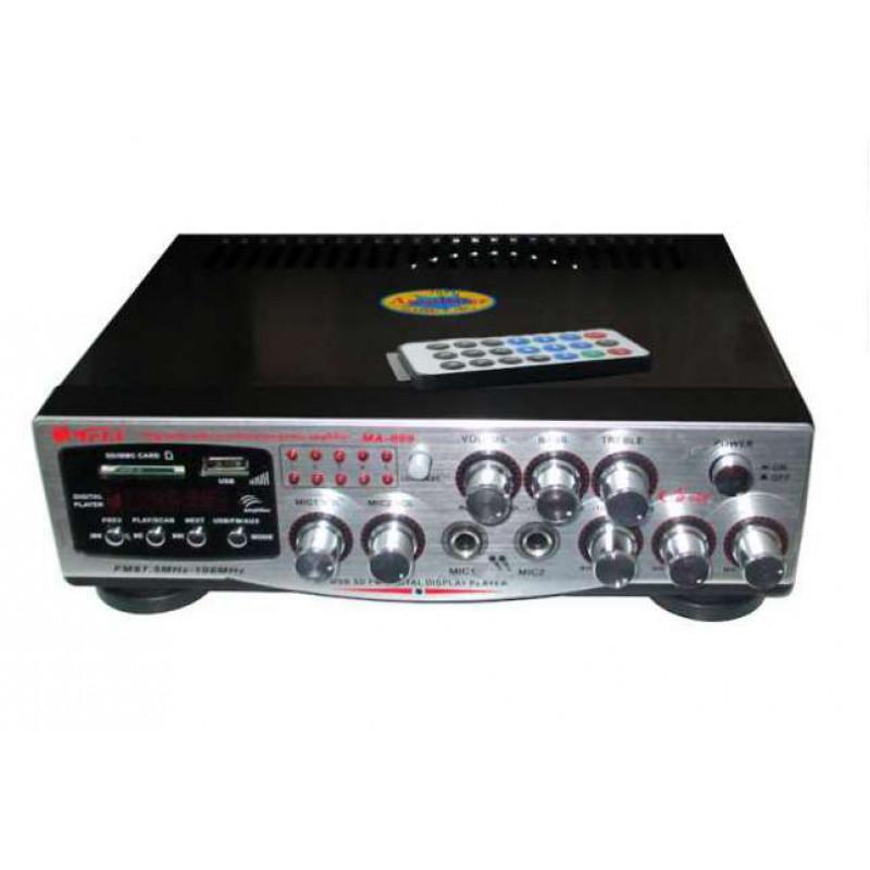 2х200в мощно стъпало с караоке функция + вградено радио и Мp3/usb