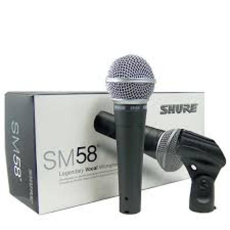 Качествен жичен микрофон Shure Sm-58