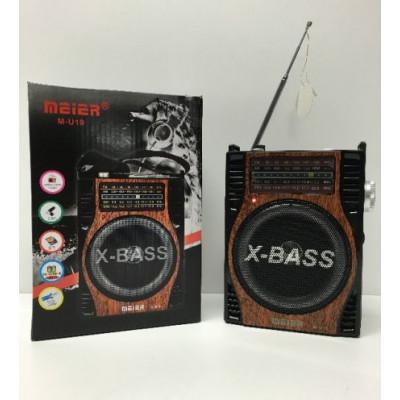 Портативно Радио, Mp3, USB, SD, модел: M-U19