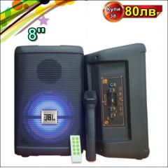 Колона JBL 8ца модел kts-1279 + безжичен микрофон