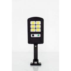 2броя Соларна сензорна лампа 6COB BK-818