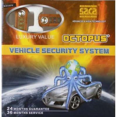 Висококачествена автоаларма Octopus KD100W - Luxury value