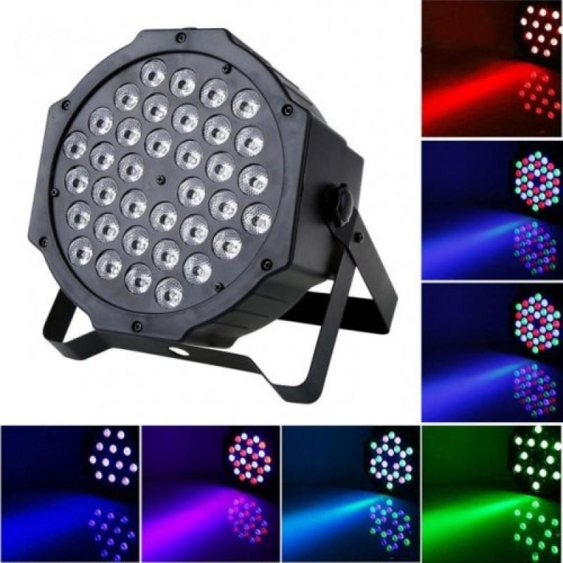 36 LED / Диско прожектор / Дискотечен прожектор / Диско осветление