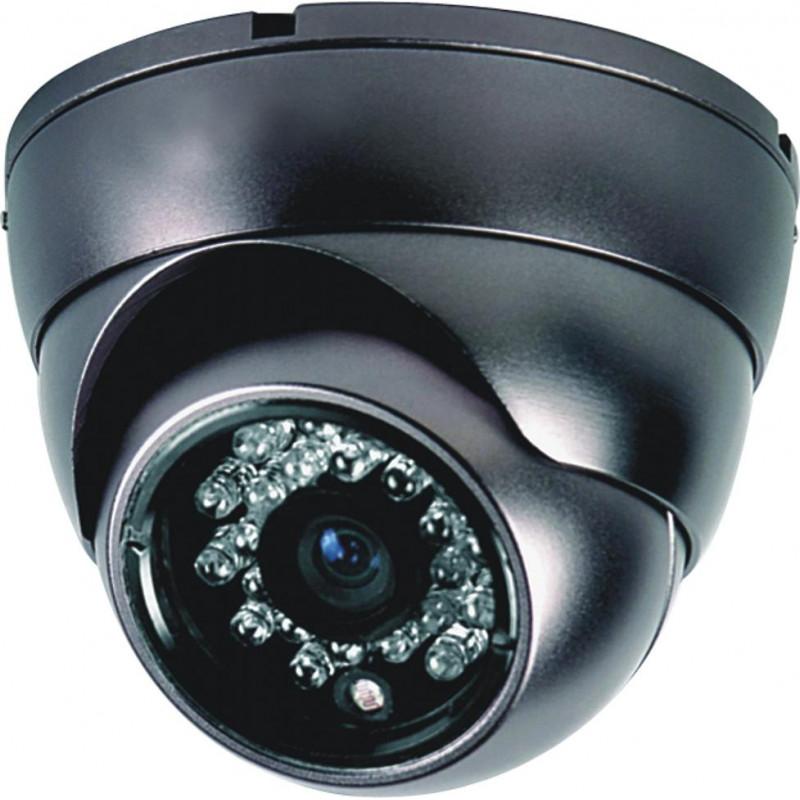 1800 Твл Цветни купулни камери с нощен режим и датчик за движение- висока резолюция 3.6мм Ccd Sharp