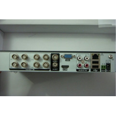 1500 TVL Система Hd-dvr + 8 Куполни камери+ 8 канален пълен пакет за видеонаблюдение и записващо устройство